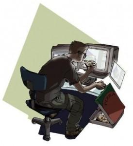naprawa zalanego laptopa